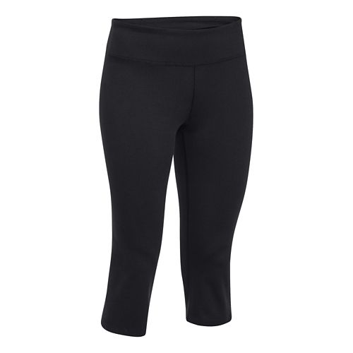 Womens Under Armour Studio City Hopper Capri Tights - Anthracite XS