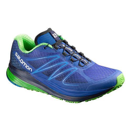 Mens Salomon Sense Propulse Trail Running Shoe - Dark Blue 11