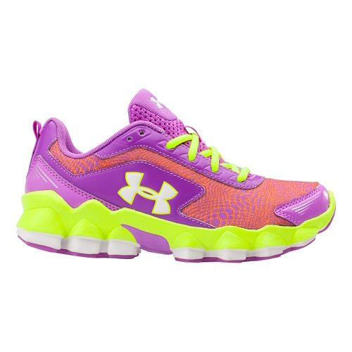Kids Under Armour GPS Nitrous Running Shoe - Exotic Bloom 13.5