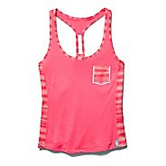 Womens Under Armour Printed Fly By Crop Tank Technical Tops