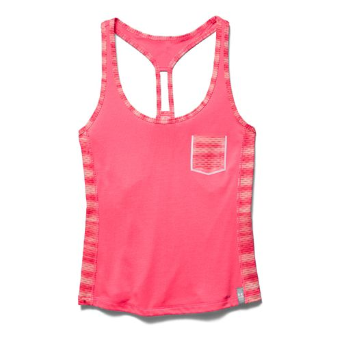 Women's Under Armour�Printed Fly By Crop Tank