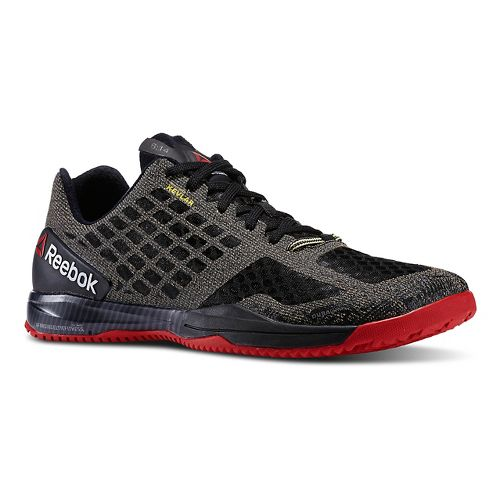 Mens Reebok CrossFit Compete Cross Training Shoe - Black/Red 10.5