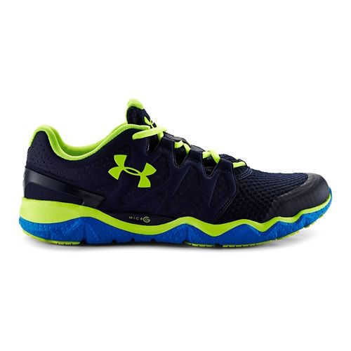 Mens Under Armour Micro G Optimum Running Shoe - Midnight Navy 9.5