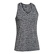Womens Under Armour Twisted Tech Tank Technical Tops