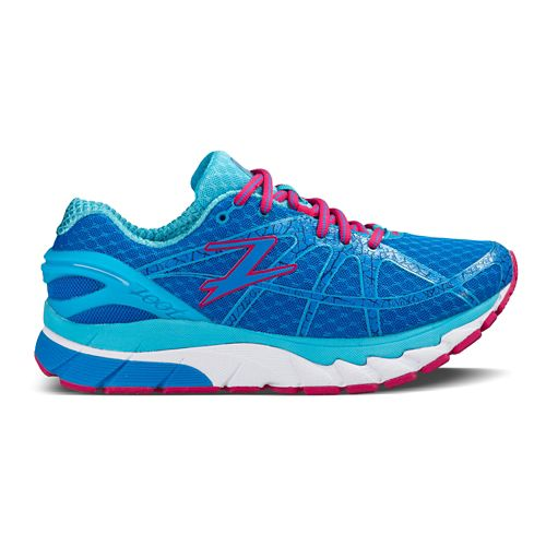 Womens Zoot Diego Running Shoe - Turquoise/Pink 8