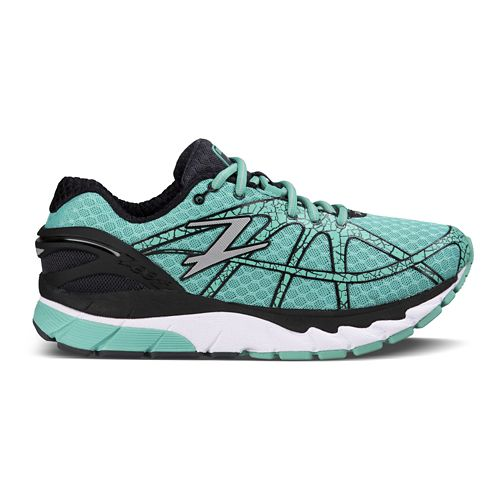 Womens Zoot Diego Running Shoe - Aquamarine/Pewter 7