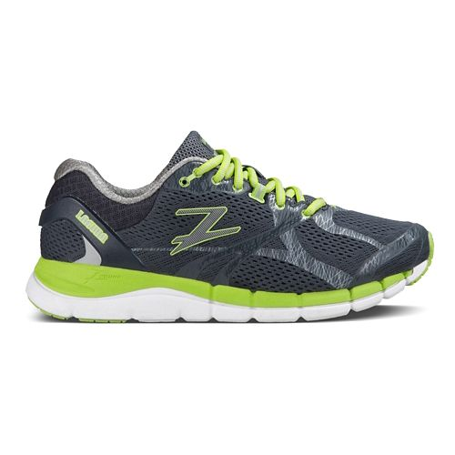 Mens Zoot Laguna Running Shoe - Gray/Green 8.5