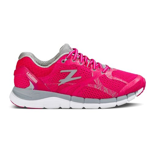 Womens Zoot Laguna Running Shoe - Pink/Gray 6