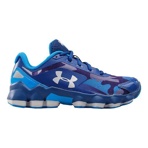Kids Under Armour BPS Nitrous Running Shoe - American Blue 12C