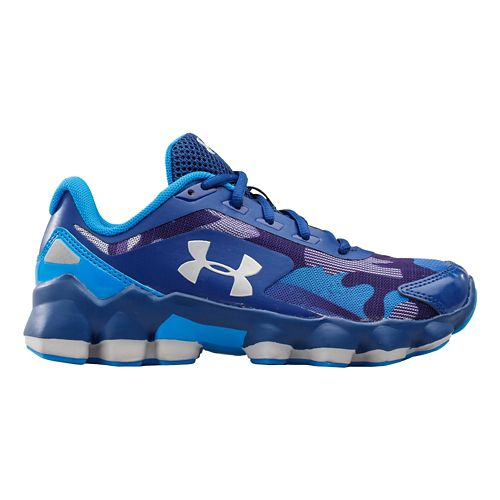 Under Armour Boys BPS Nitrous Running Shoe - American Blue 3Y