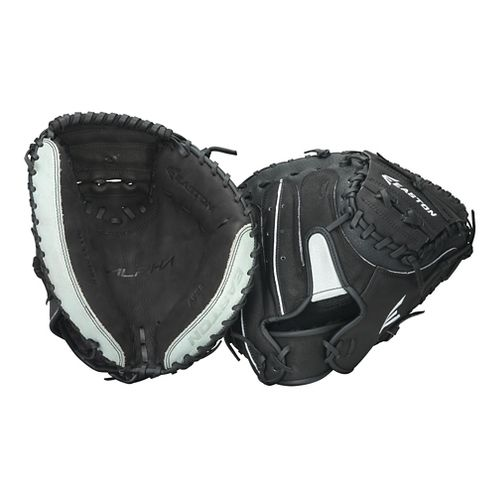 Easton Alpha 34 Catchers Mitt Fitness Equipment - Black Left