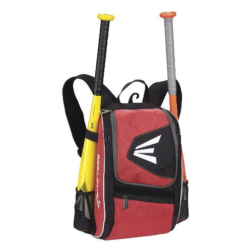 Easton E100P Youth Bat Backpack Bags - Black/Red