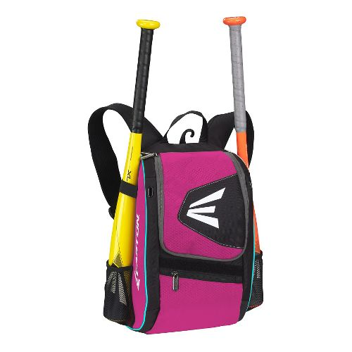Easton E100P Youth Bat Backpack Bags - Black/Pink