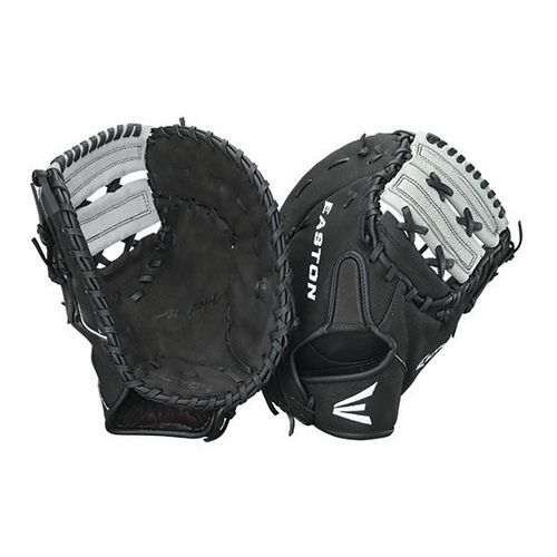 Easton Alpha 1st Base Mitt Fitness Equipment - Black Right