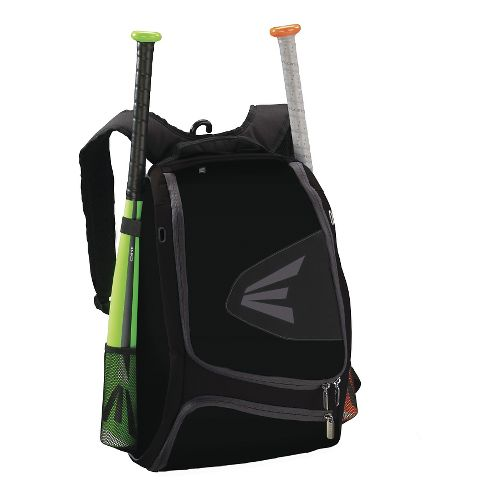 Easton E100XLP Bat Backpack Bags - Black/Grey