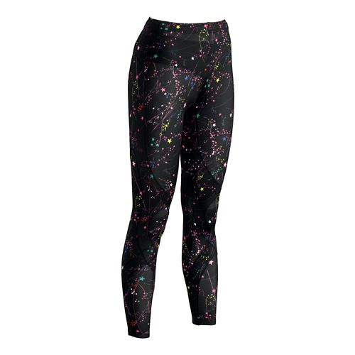 Womens CWX Stabilyx Printed Full Length Tights - Constellation M