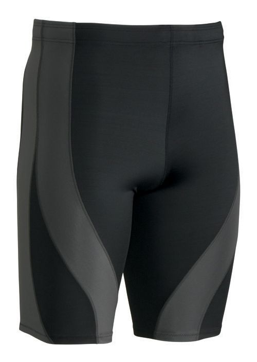 Mens CW-X PerformX Unlined Shorts - Black/Dark Grey M