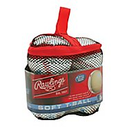 Rawlings 6 pack Bag of T-balls Fitness Equipment