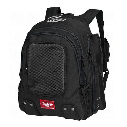 Rawlings Baseball Backpack Bags - Black