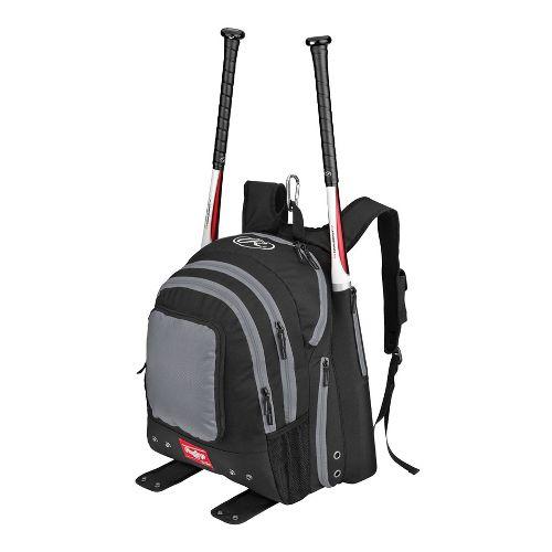 Rawlings Baseball Backpack Bags - Silver