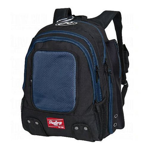 Rawlings Baseball Backpack Bags - Navy