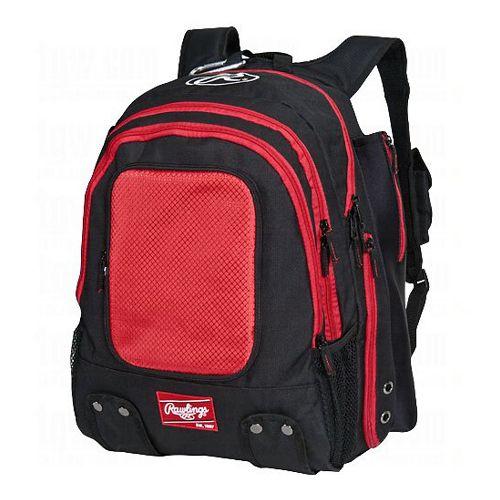 Rawlings Baseball Backpack Bags - Scarlet