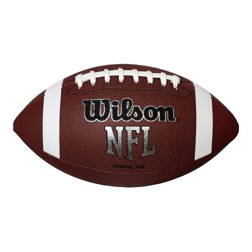 Wilson NFL Air Attack Football Fitness Equipment - Brown/White