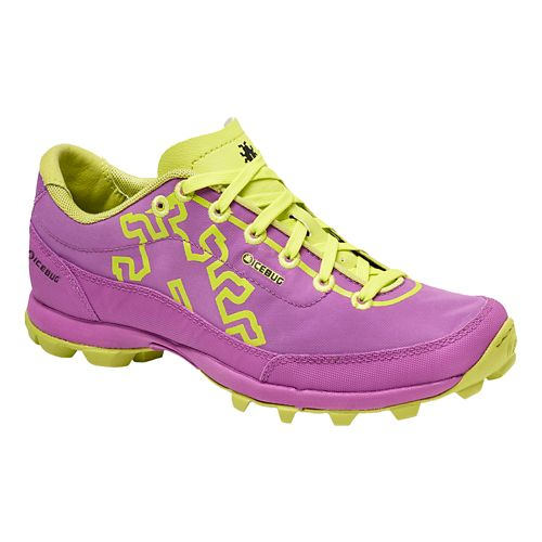 Womens Icebug Acceleritas4 RB9X Trail Running Shoe - Orchid/Poison 9