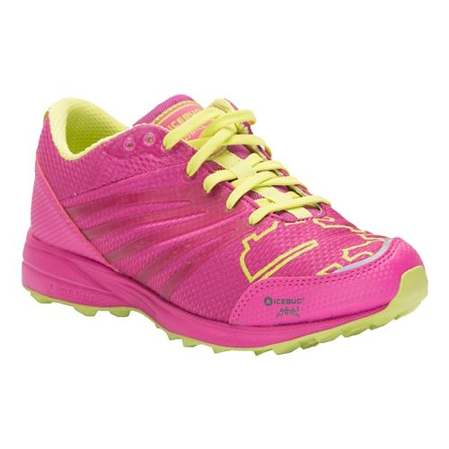 Womens Icebug Anima3 RB9X Trail Running Shoe - Peony/Poison 8