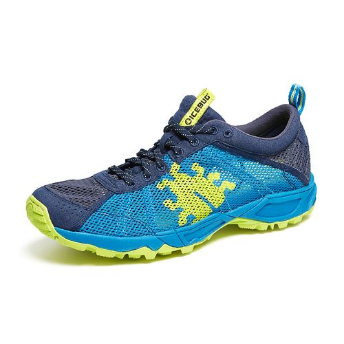 Mens Icebug Mist RB9X Trail Running Shoe - Eclipse/Ocean 8
