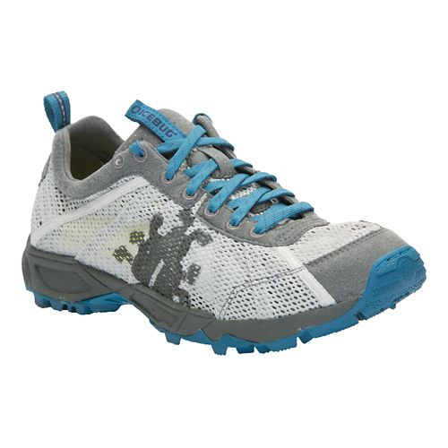 Mens Icebug Mist RB9X Trail Running Shoe - Shell/Sapphire 7.5
