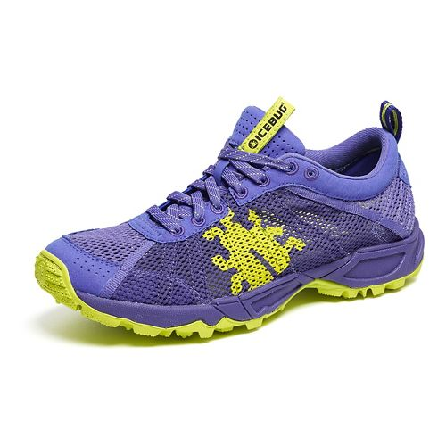 Womens Icebug Mist RB9X Trail Running Shoe - Iris/Grape 8