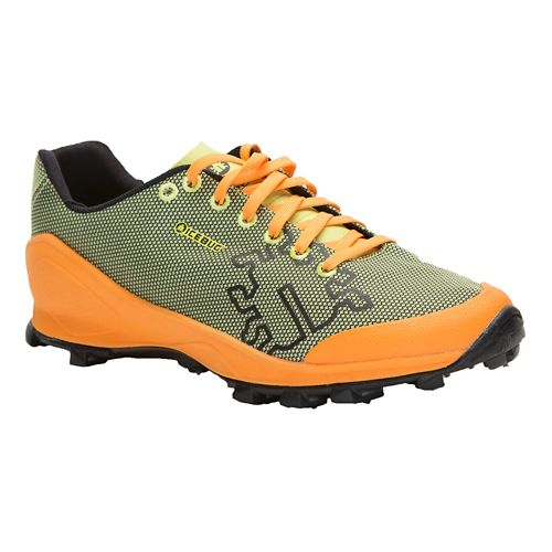 Mens Icebug Zeal OLX Trail Running Shoe - Poison/Marigold 12.5