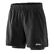 Mens 2XU Pace Compression 2 in 1 Shorts