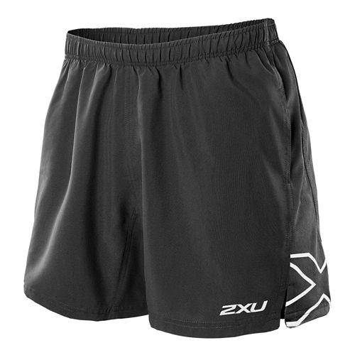 Mens 2XU X Movement Lined Shorts - Black/Black M