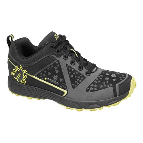 Mens Icebug DTS BUGrip Trail Running Shoe - Black/Poison 10