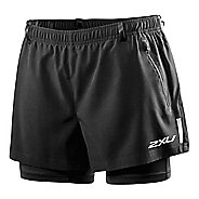 Womens 2XU XTRM Short W/ Compression 2 in 1 Shorts