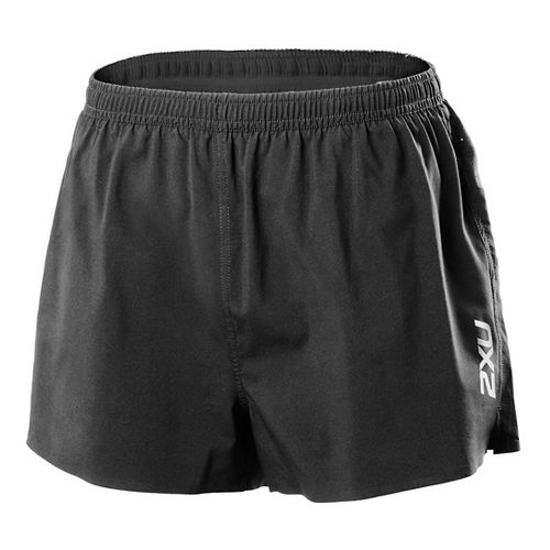 Womens 2XUX Lite Lined Shorts - Black L