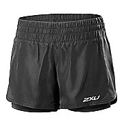 Womens 2XU Pace Compression 2 in 1 Shorts