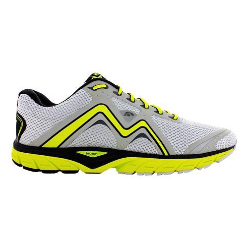 Mens Karhu Fast5 Fulcrum Running Shoe - Grey/Flumino 11.5