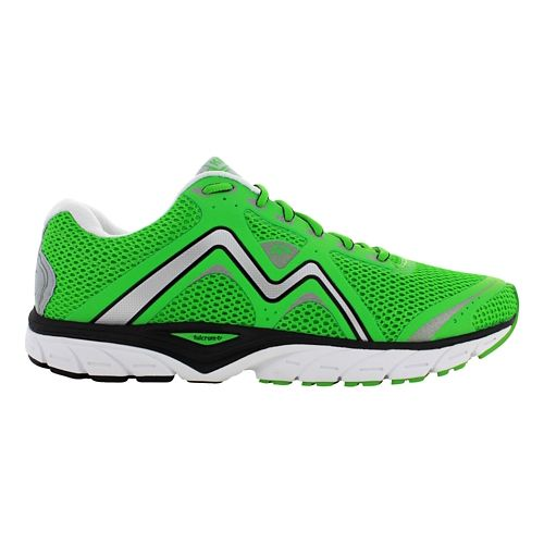 Mens Karhu Fast5 Fulcrum Running Shoe - Bright Green/Black 10