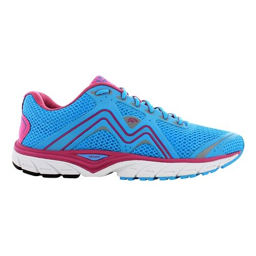 Womens Karhu Fast5 Fulcrum Running Shoe - Blue Atoll/Berry 6