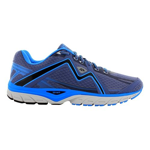 Mens Karhu Strong5 Fulcrum Running Shoe - Titanium/Light Blue 11.5