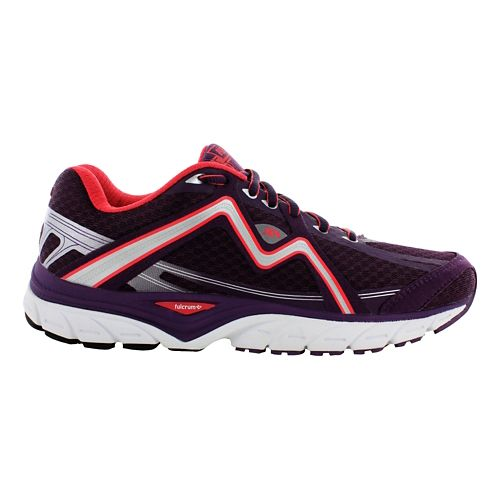 Womens Karhu Strong5 Fulcrum Running Shoe - Plum/Hibiscus 7