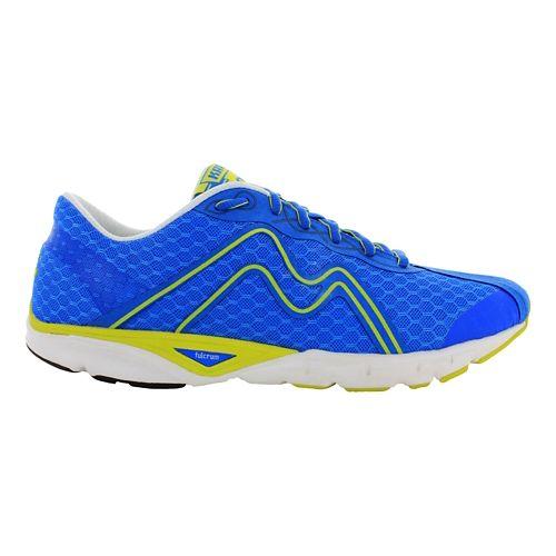 Mens Karhu Flow4 Trainer Running Shoe - Finnish Blue/Flumino 9