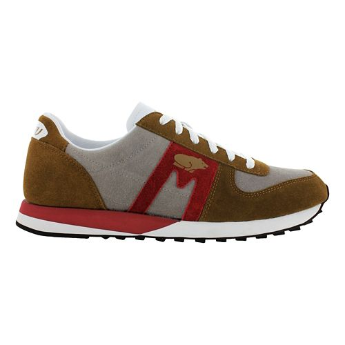 Mens Karhu Fulcrum Star XC Casual Shoe - Brown/Burgundy 10