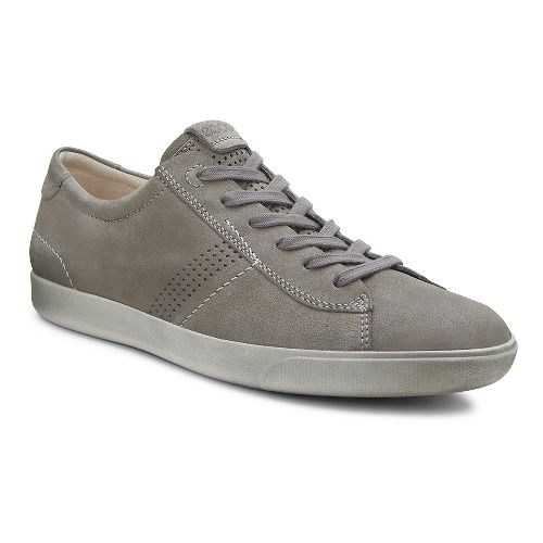 Mens Ecco Gary Tie Casual Shoe - Warm Grey 40