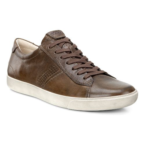 Mens Ecco Gary Tie Casual Shoe - Birch 46