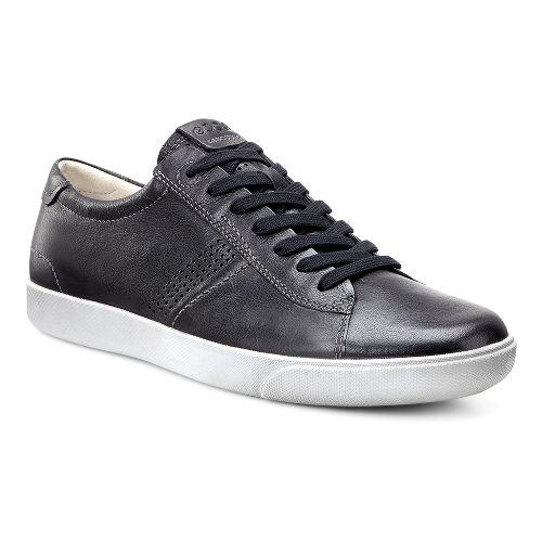 Mens Ecco Gary Tie Casual Shoe - Warm Grey 40