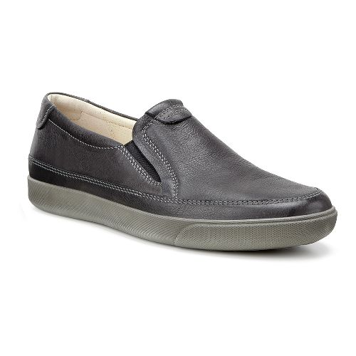 Mens Ecco Gary Slip-On Casual Shoe - Cognac 46